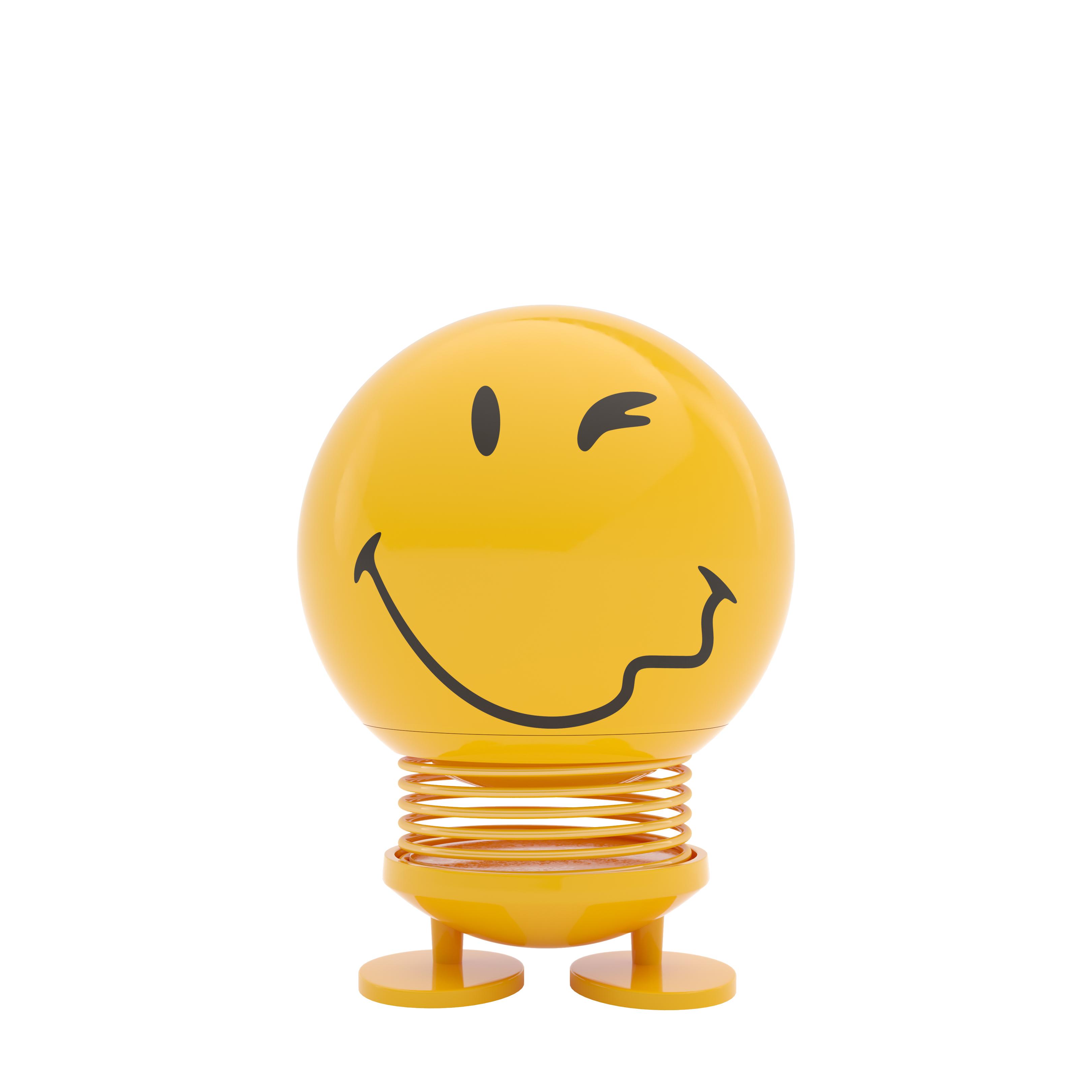 smiley zwinker